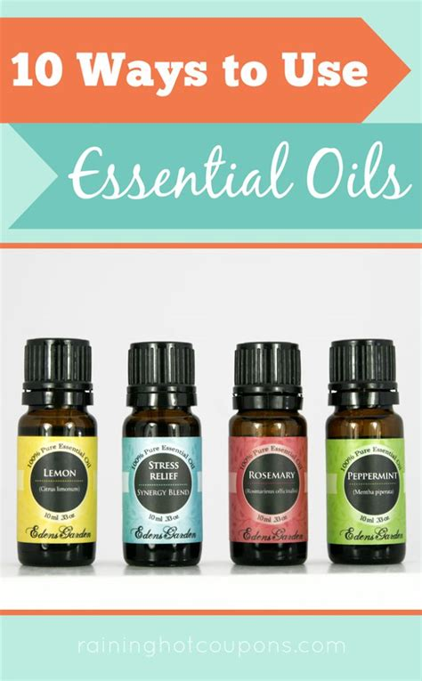 edens garden essential oils code 10 ways to use essential oils frugal tips tricks from