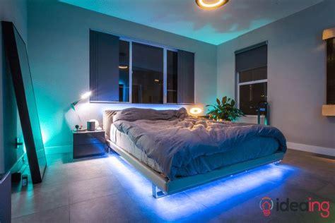ideas   philips hue lightstrips   bed