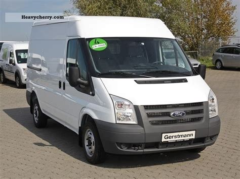 Ford Transit Ft 280m Box Truck 2012 Box-type Delivery Van