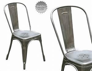 Chaise Design Metal : chaise a tolix ~ Teatrodelosmanantiales.com Idées de Décoration