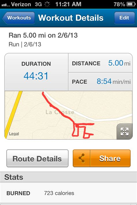 nine months average pace ventured mile even never into