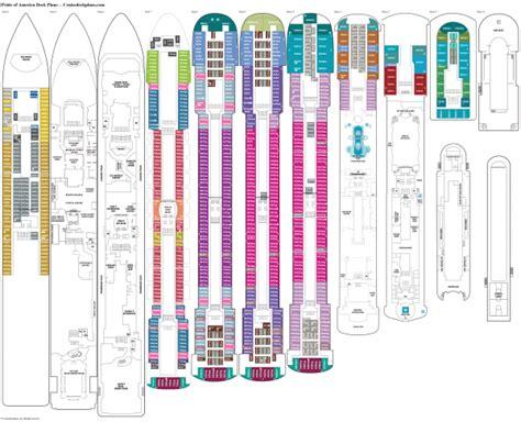 ncl deck plans pride of america pride of america cruise line rol cruise