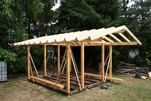 Schleppdach Selber Bauen : holzdach bauen wunderbare inspiration dach selber bauen ~ Michelbontemps.com Haus und Dekorationen