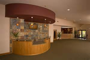 Church Welcome Center Lobby