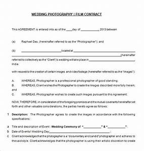 20 photography contract template With how to make a wedding photography contract