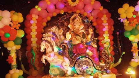 ganpati decoration ideas  home  theme  ganesh