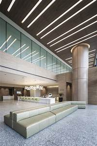 Lobby entrance ceiling design at the farrer park