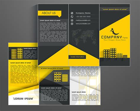 Brochure Photoshop Template by How To Create A Brochure Template In Photoshop