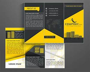 how to create a brochure template in photoshop With pamphlet photoshop template
