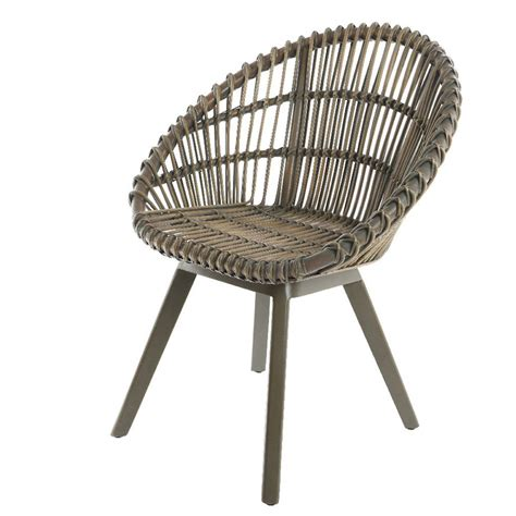 rattan indoor outdoor scandi tub chair by ella