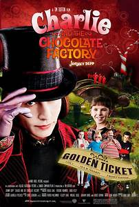 Charlie and the Chocolate Factory movie poster on Behance