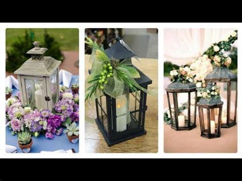 (30) beautiful flowers decorated lanterns centerpieces
