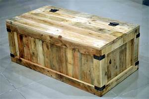 Chest Made Out of Pallets