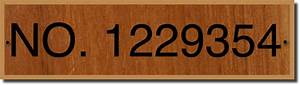 teak plaque boat documentation numbers With coast guard documentation plaque