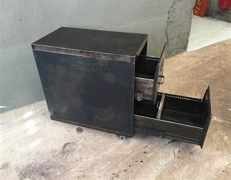 caisson bureau industriel caisson deux tiroirs industriel