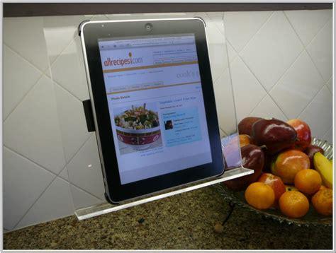 porte tablette cuisine support tablette suspendu sp 233 cial