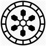 Icon Tribal Rug Round Vectorified
