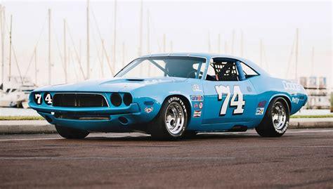 Race Dodge Challenger 1973 dodge challenger race car ex dale earnhardt