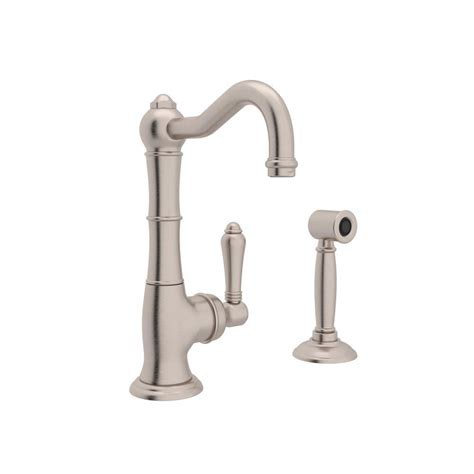 rohl country single handle standard kitchen faucet