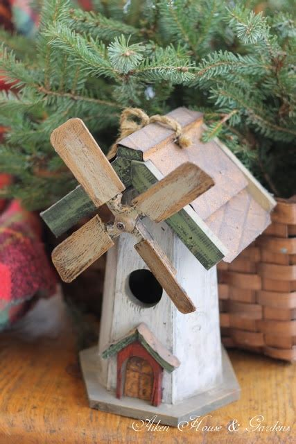 dutch windmill birdhouse ladybug house birdhouses