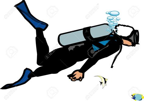 Scuba Diver Clipart Scuba Diver Clipart Scuba Diving Equipment Pencil And In