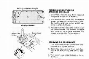 Singer Sewing Machine Bobbin Case Diagram
