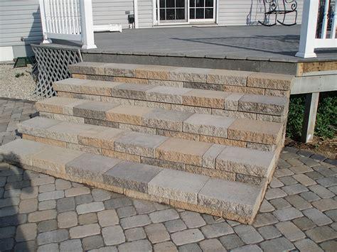 patio pavers stairs modern patio outdoor