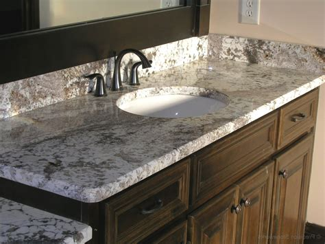 bathroom cost of granite bathroom countertops ideas