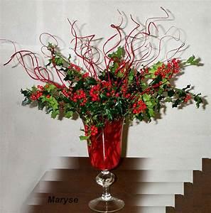 decoration de noel bouquet de houx le blog creatif de With chambre bébé design avec creation bouquet de fleurs
