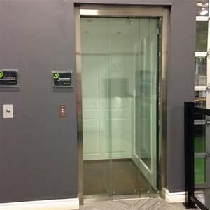 Residential Home Elevator (frameless glass)