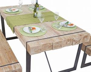 Esstisch Massivholz Rustikal : esszimmertisch hwc a15 esstisch tisch tanne holz rustikal massiv ebay ~ Markanthonyermac.com Haus und Dekorationen