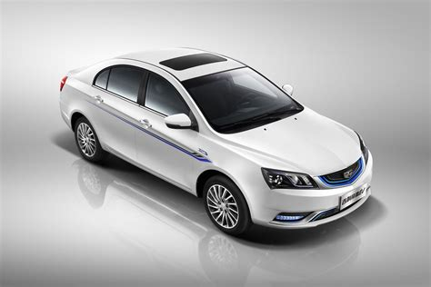 Electric Car by Geely Emgrand Ev Electric Car Driven By