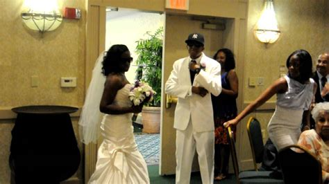 colson bridal reception entrance a must see z beyonce tribute