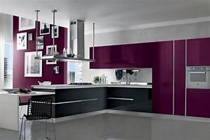 Cuisine Couleur Aubergine : une cuisine neuve rien que pour vous dans votre maison ~ Premium-room.com Idées de Décoration