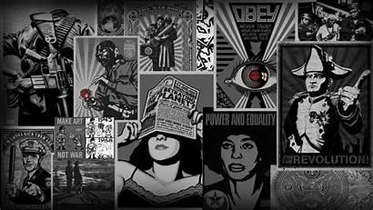 Obey Wallpapers Backgrounds Desktop 4k Windows History