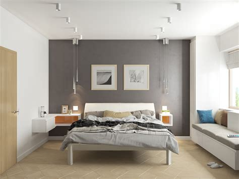 Bedroom Feature Wall Ideas Grey by 42 Gorgeous Grey Bedrooms