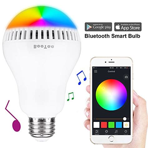 wifi smart led light bulb bluetooth speaker works with