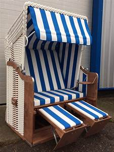 Strandkorb Blau Weiß : k nigsstuhl sonderedition wei markise blau wei ostsee strandkorb binz r gen ~ Whattoseeinmadrid.com Haus und Dekorationen