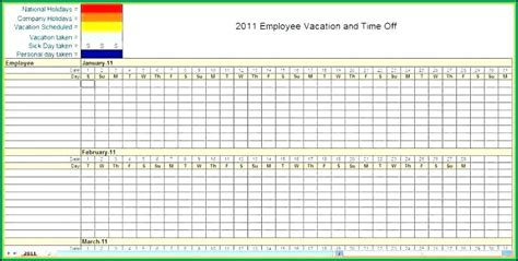 blank monthly employee schedule template excel template