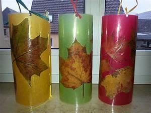 Windlichter Basteln Transparentpapier : laternen herbstbl tter auf buntem transparentpapier laminiert und mit bast zusamnenhen ht ~ Eleganceandgraceweddings.com Haus und Dekorationen