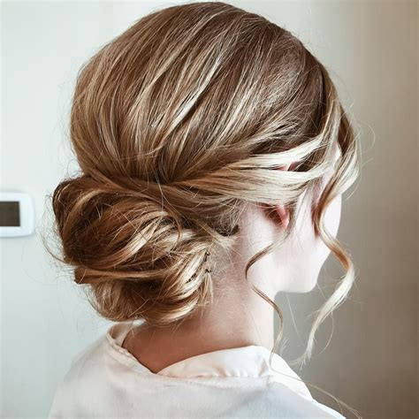 Classic wedding updo hairstyle inspiration   Wedding