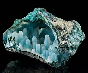 Minerals Crystals Gems Oh My! - Chalcedony on Chrysocolla ...