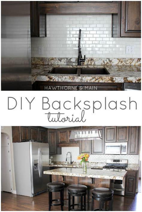 diy kitchen backsplash hawthorne and diy kitchen backsplash