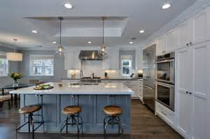 traditional kitchen backsplash ideas 25 blue and white kitchens design ideas designing idea