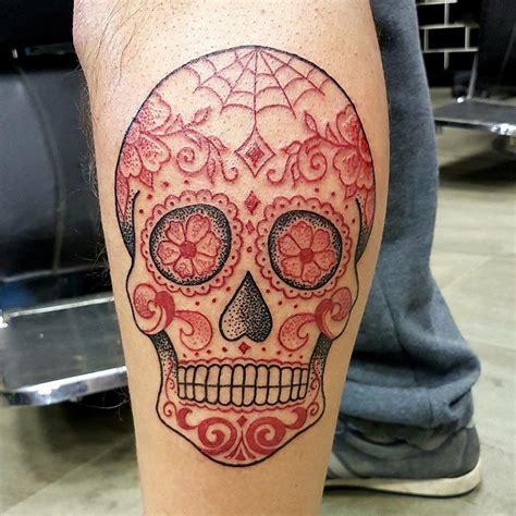 125+ Best Sugar Skull Tattoo  Designs & Meaning (2018