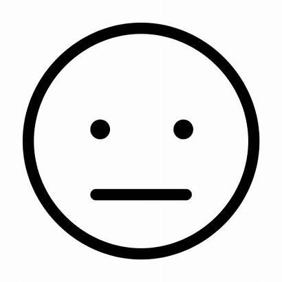 Face Clip Clipart Neutral Happy Smiley Emoji