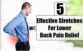 Stretch Lower Back Pain Relief Exercises  Lower Back Stretches For Pain Relief