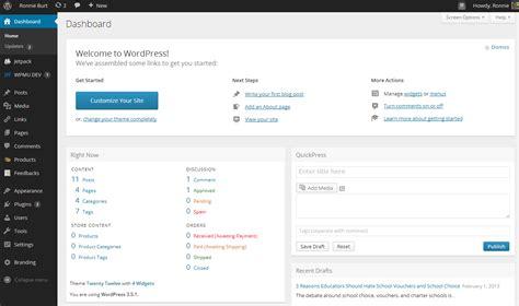 Preview The Secret New Wordpress Admin Design