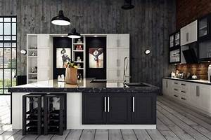 32 industrial style kitchens that will make you fall in love for Kitchen cabinets lowes with inspirational wall art for home