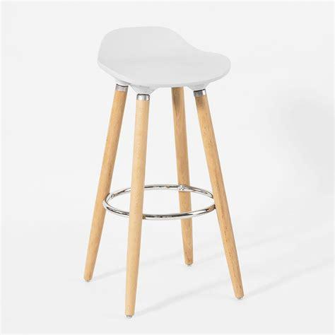 chaise avec repose pied sobuy tabouret de bar cuisine chaise fauteuil bistrot repose pieds fst21 45 fr ebay